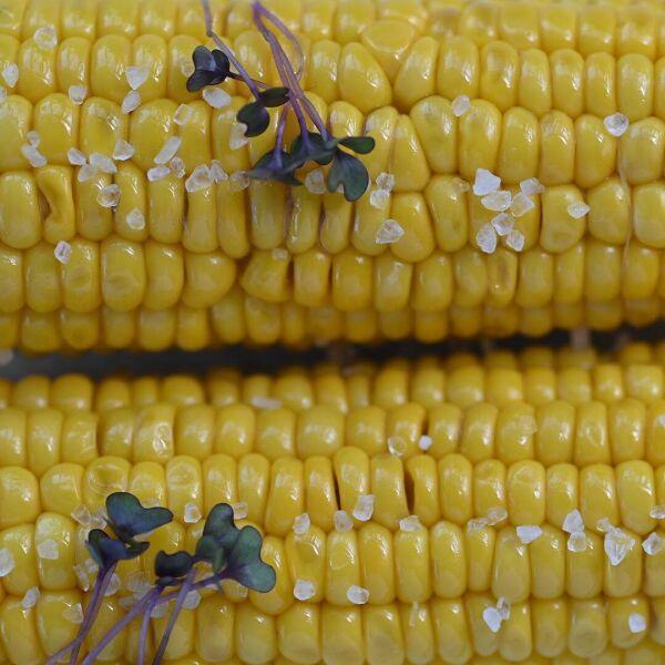Кукуруза с солью